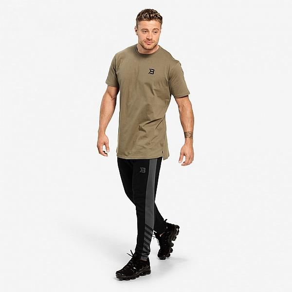 Better Bodies Stanton Oversize Tee - Washed Green Detail 6